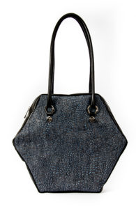DENIM HEXAGON L BAG