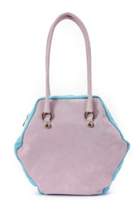 3 COLOURS HEXAGON L BAG
